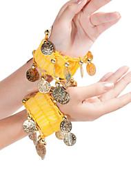 Girls Coin Bracelet A Belly Dance All Seasons Satin Bracelet