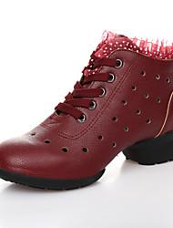 Zapatos de baile ( Negro/Rojo/Otros ) - Dance Sneakers - No Personalizable - Tacón bajo