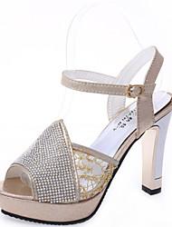 peep toe chaussures à talons hauts de femmes