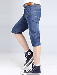 U-Shark New Men's Summer Slim Casual&Fashion Jeans Shorts Pants/Trousers with Blue Color
