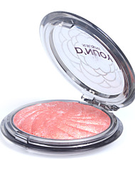 1 Color Professional Beauty Round Face Makeup Complexion Baked Blush Blusher Powder Palette#1