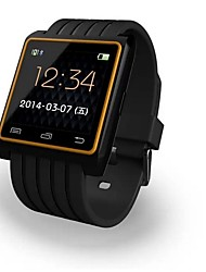 Wearables Smart Watch , Bluetooth Hands-Free Calls/Media Message Camera Control for Android IOS Smartphone