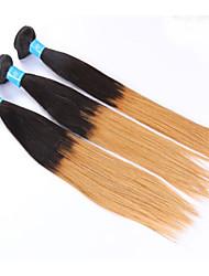 """Pc 1 lotto 8 """"-24"""" capelli vergini peruviani # 1b dei capelli umani diritto bundle dei capelli diritti"""