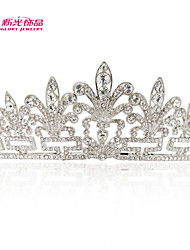 Neoglory Jewelry Clear Austrian Rhinestone Flower Tiara Crown Hair Accessories for Lady's Wedding Pageant