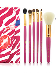 7 Makeup Brushes Set Limits bacteria Face / Lip / Eye MAKE-UP FOR YOU