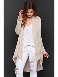 Women's Beige Jackets , Casual Long Sleeve