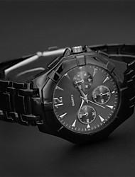 JINSHI  2015 New Men's High Quality European Steel Table Quartz Watch