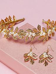 Women's Alloy Imitation Pearl Wedding Jewelry Set