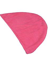 """sinland microfibra torção turbante cabelo cap seca cabeça banho ultra absorventes embrulhar cap envoltório cabelo 9.8 """"x25.6"""" rosa escuro"""