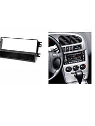 fascia radio de voiture pour spectres kia b shuma ii de sephia ii mentor w / de poche