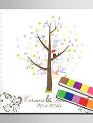 Cornici e portafoto con firma - Giardino - Bianco