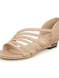 Women's Shoes Wedge Heel/Open Toe /Sandals Dress Casual Green/Black/White/Beige