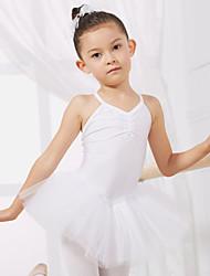 Ballett - Kleider & Röcke/Balletröckchen und Röcke/Kleider (Apfelgrün/Hellblau/Rosa/Rot/Weiß/Gelb , Baumwolle/Tüll , Ballett) - für