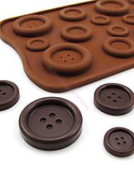 Taste förmigen Süßigkeiten Schokolade Muffin Backform Form 22 * 10,5 * 0,5 cm