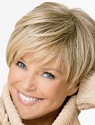 European High Quality Fashion High Quality Synthetic Hair Nylon Hair Blond Wig