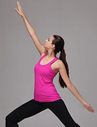 Yoga Top / Canotte Pantaloni + TopPermeabile all'umidità / Privo di elettricità statica / Compressione / Traspirante / Asciugatura rapida