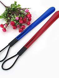 Fashion Candy Colors Plastic Shoe Horns & Boot Jacks 52*11*0.3CM One PCS