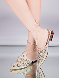 Women's Shoes Flat Heel Pointed Toe Ankle Strap  Sandals  More Colors available