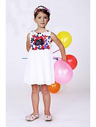 2015 Girls Summer Dresses Brand Children DIY Dress Designer Kids Clothes Baby Girls Dress Princess Kids Girl Dress