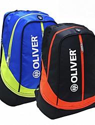 синий / оранжевый многофункциональный отдыха рюкзак бадминтон рэкет сумка концепция линия