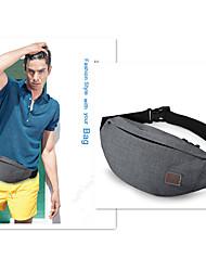 TINYAT Hot Men Leisure Waist Pack/ Money Belt Bag/Casual Wateproof Fanny Bag/Chest Bag T201