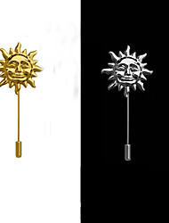 Sun Brooch (1Pc)