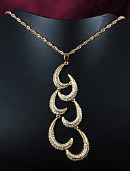 New Design Party/Casual Gold Plated Pendant Necklace Classical Design