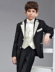 First Communion Ring Bearer Suit Polester/Cotton Blend 5 Suit Bearer Dressy Suits