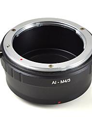 mengs® ai-m4 / 3 monture d'objectif bague adaptatrice pour Nikon intérim à Olympus E-P1 E-PL2 ou Panasonic G1 g2 g10 gf1- m4 / 3 caméra