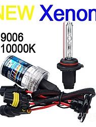 Car 9006 35W 10000K HID Xenon Headlight Light Lamp Bulb (2PCS)