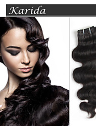 Mix Length Virgin Indian Remy Hair Extension,  Body Wave Indian Human Hair Weaving