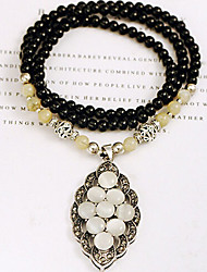 New Arrival Fashional Hot Selling Opal Bead Necklace