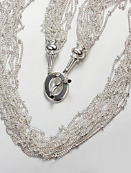 2015 New Design Party/Work/Casual Silver Plated Statement Fine Accessories for Women