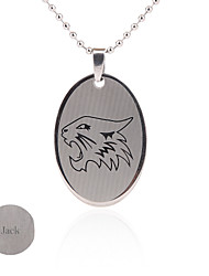Gift Groomsman Customize Gift Men's The Wolf Pattern Pendant
