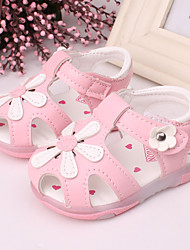 Baby Shoes Outdoor/Dress/Casual  Sandals Pink/White