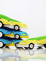 Cartoon Big Racing Car Detachable Rubber Eraser (Random Color)