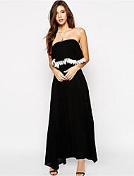 Women's Glamorous Petite Shelf Bandeau Maxi Dress