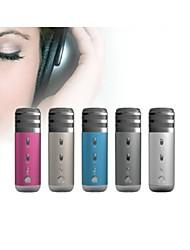 Mini Good Quality Karaoke Wired Microphone for Notebook PC/PC Headphone