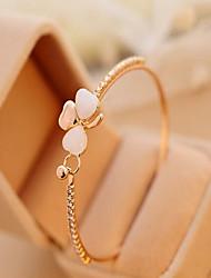 May  Polly Clover opal full diamond bracelet