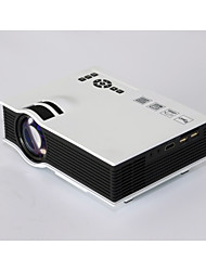 TS-40 Color LCD Image System Mini Projector  60Lumens With USB / SD / HDMI / IP