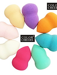 Gourd Shape Beauty Makeup Powder Puff(Random Color)