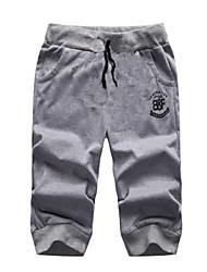 Pantaloncini - MEN - da Casual/Sport Cotone - Blu/Rosso/Grigio