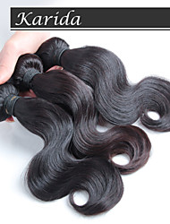 No shedding and No Tangle Virgin Malaysian Remy Hair, 3 pieces/lot Cheap Brazilian Hair Weaving
