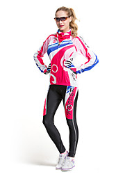 FORIDER® Riding Sports Clothing Set Long Sleeved Women Colorful Bubble