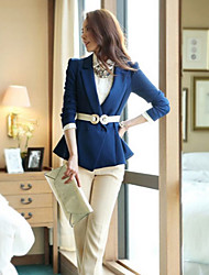 Women's Casual Medium Short Blazer (Cotton Blends)