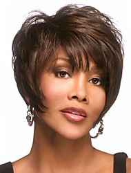 Europe and The United States High Quality Fashion High Quality High Temperature Synthetic Hair Silk Short Hair Wig