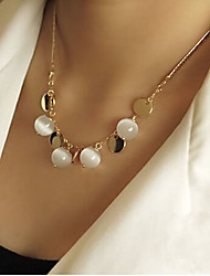 New Arrival Fashion Jewelry Fresh Opal Necklace