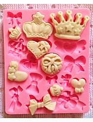 посуда силиконовые формы для выпечки корона для помады конфеты шоколадный торт