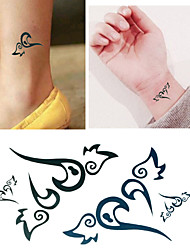 My Heart Fly to You Tattoo Stickers Temporary Tattoos(1 Pc)