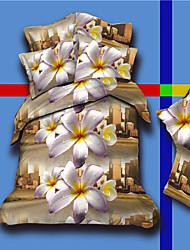 impression de fleur daimeng textiles de maison de quatre pièces de costume